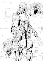 Toni Gutierrez Weapon X Inks by Lion542