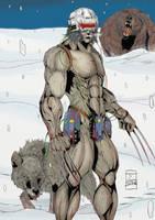 Toni Gutierrez Wolverine Weapon X Color by Lion542