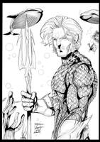 Toni Gutierrez Aquaman Inks by Lion542