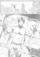 Toni Gutierrez Page 1 Teen Titans Pencil by Lion542