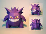 Gengar PokeDoll Papercraft by Skele-kitty