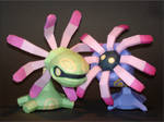 Cradily n Lileep Papercraft by Skele-kitty