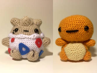 Pokemon Amigurumi by Skele-kitty