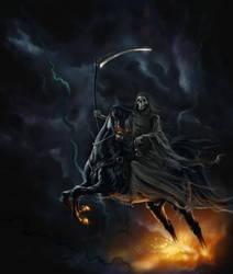 Death's Horse by basilia-czar