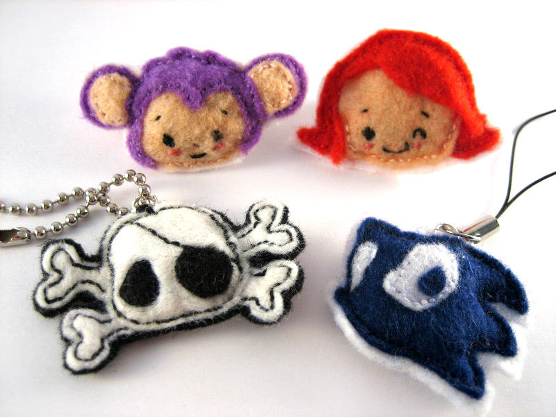 Felt Thingers by chisa