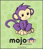 Mojo - grumpy monkey by chisa