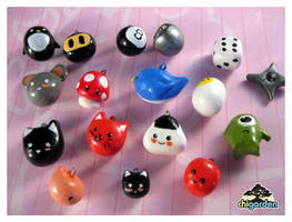 Clay Charms by chisa
