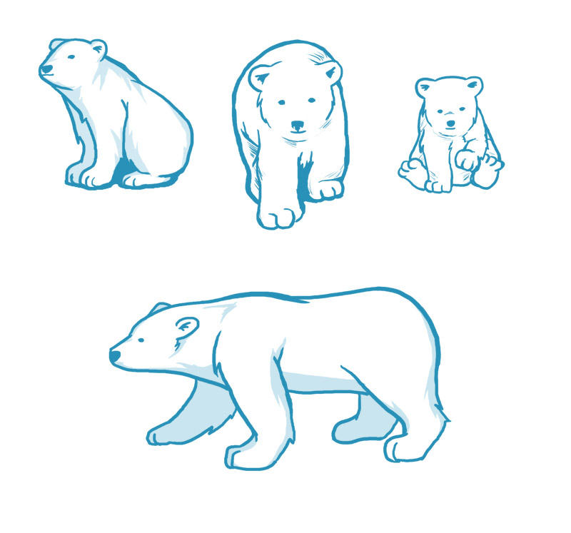 Blue Bears by chisa