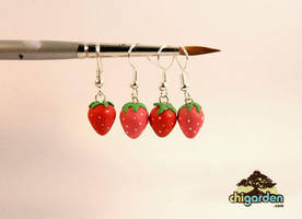 Berry Berry Earrings by chisa