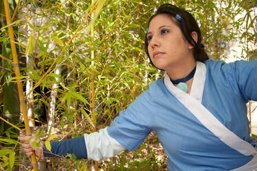 Avatar: Katara in the bamboo by chisa