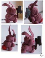 Axe bunny for darknessie by Podopteryx