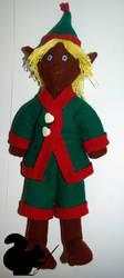 Santa Little Helper by Podopteryx