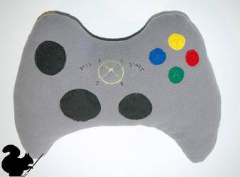 Xbox pad pillow by Podopteryx
