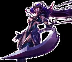 Diana DarkValkyrie Skin by BladeIIII