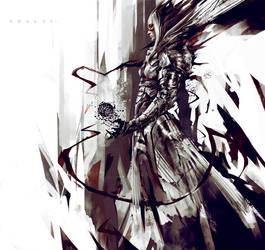 Dark Valkyrie by SoulDa