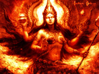 Indian Goddess by JkSuf