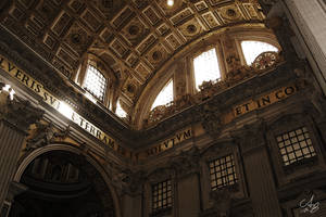 Rome - St. Peter's Basilica by Cheezen