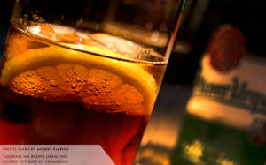 Coca Cola with lemon by Cheezen