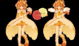 Render Sakura Card Captor by KillerJeff234