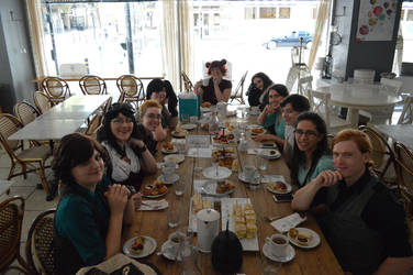 Steam Punk Birthday Tea Party by Something-Mental