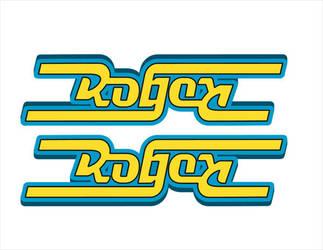 Roger Ambigram by KeepingYouAwake