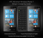 HTC Mondrian Concept PSD by Livven