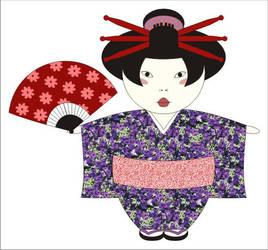 Geisha I by gatahada