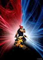 Mortal Kombat vs Street Fighter. Scorpion Akuma by ultimate-savage