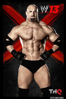 Goldberg WWE 13 poster by ultimate-savage