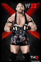 Ryback WWE 13 poster by ultimate-savage