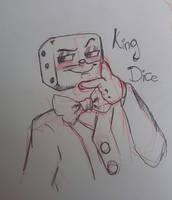 [Sketch] King Dice by LeoLevahn