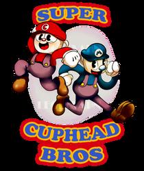 Super Cuphead Bros by LeoLevahn