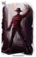 freddy krueger by FASSLAYER