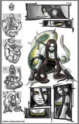 Snake Metalhead by FASSLAYER