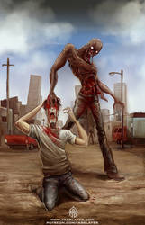 Zombie Attack by FASSLAYER