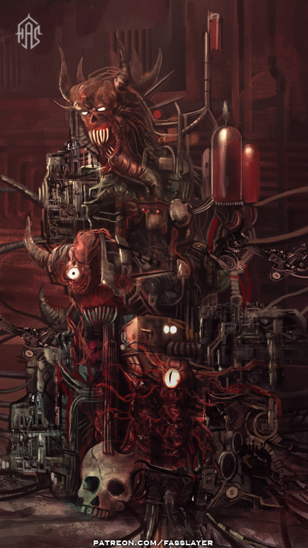 Hell Machine by FASSLAYER