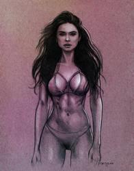Sophia Miacova Sketch by EdwardDillon