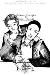 Seamus and Dean by far-eviler