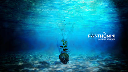 PostHomini: Oceanic Solitude by DarkZaitzev