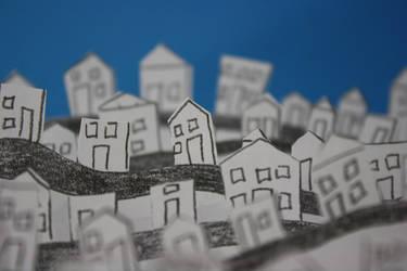 Paper Village by blondesRsnart