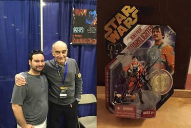 Garrick Hagon - Rhode Island Comic Con 2015 by djcos25
