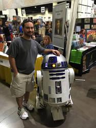 Me and Artoo - Rhode Island Comic Con 2015 by djcos25