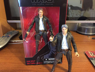 The Force Awakens Han Solo Repaint by djcos25