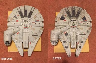 Millennium Falcon Repaint by djcos25