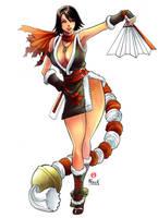 Mai Shiranui - Maximum Impact Version by shonemitsu