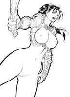 Taki Version 2 -Soul Calibur Series by shonemitsu