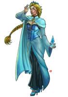 Princesa Gelo by shonemitsu