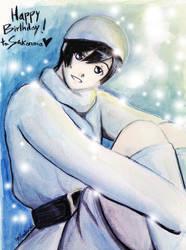 Cute Winter Izana - Sidonia no Kishi by Aresky