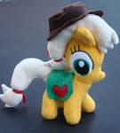 Mini Applejack by deedeekhn