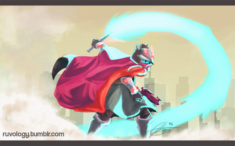 Hyper Light Drifter by Jruva